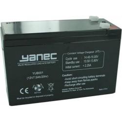 Yanec Loodaccu 12V 7.5 Ah