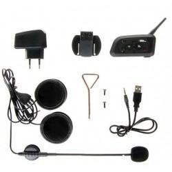 2 stuks FDC-03B Bluetooth intercom motor interphone 1000meter
