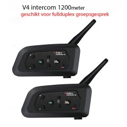 2 stuks FDC-02 Bluetooth intercom motor interphone 1000meter